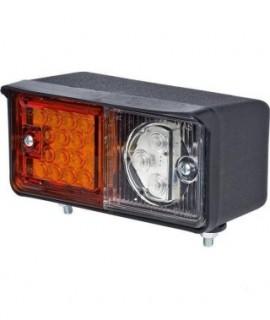 Lampa kierunkowskazu LED,12 V - 24 V, przednia, prawa