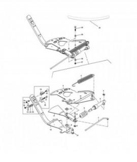 1107100 Skala zakresu wysiewu, lewa  AMAZONE  ZA-M