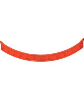 Skala OM 5 - 28, lewa czerwona