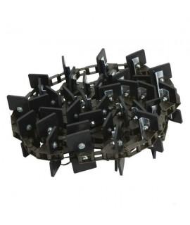 Łańcuch przenośnika ziarnowego kompletny 27 ŁOPATKI