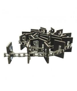 Łańcuch przenośnika ziarnowego kompletny, 143 ogniwa 36 łopatek CLAAS